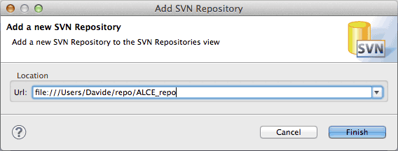 Add SVN Repository