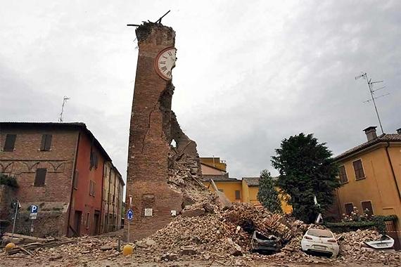 Finale Emilia - Torre dell'orologio