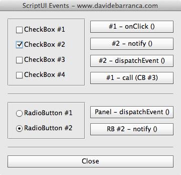 ScriptUI Events