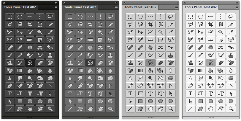 Photoshop Tools Panel