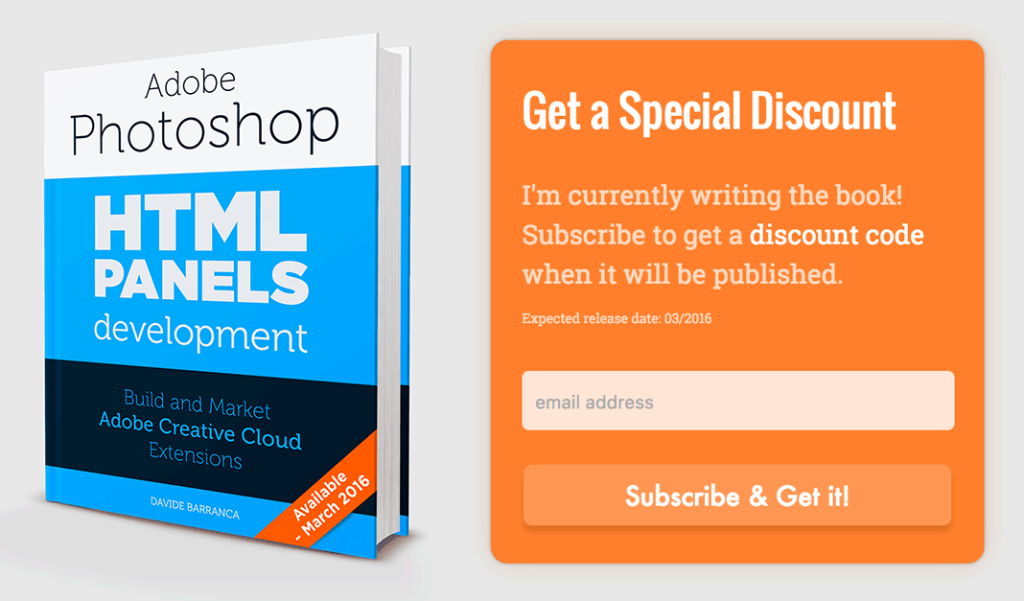 HTML Panels Book Development Newsletter